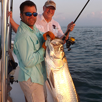 Tampa bay fishing charters tarpon inshore offshore for Charter fishing tampa
